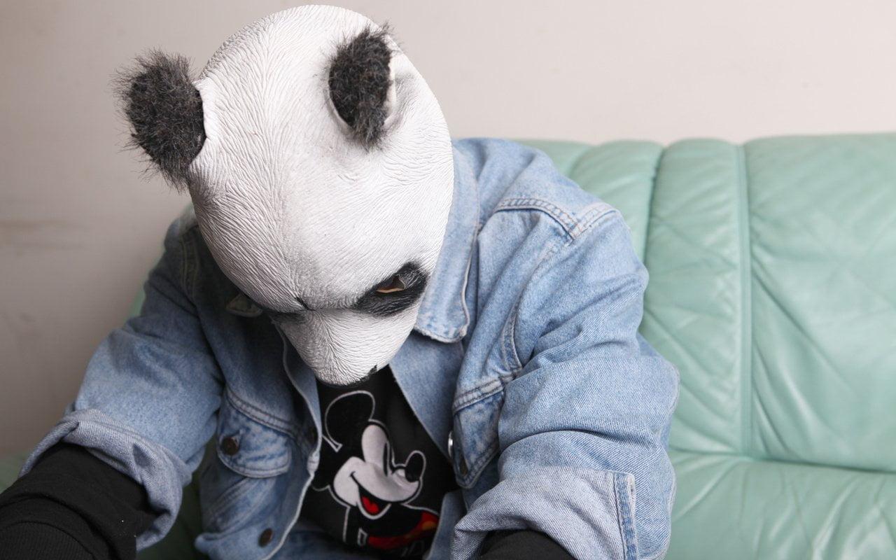 прошел картинки на аву маска панды на человеке цветов орнаментов