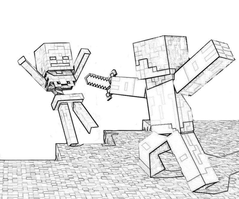 Прикольные рисунки карандашом из майнкрафта