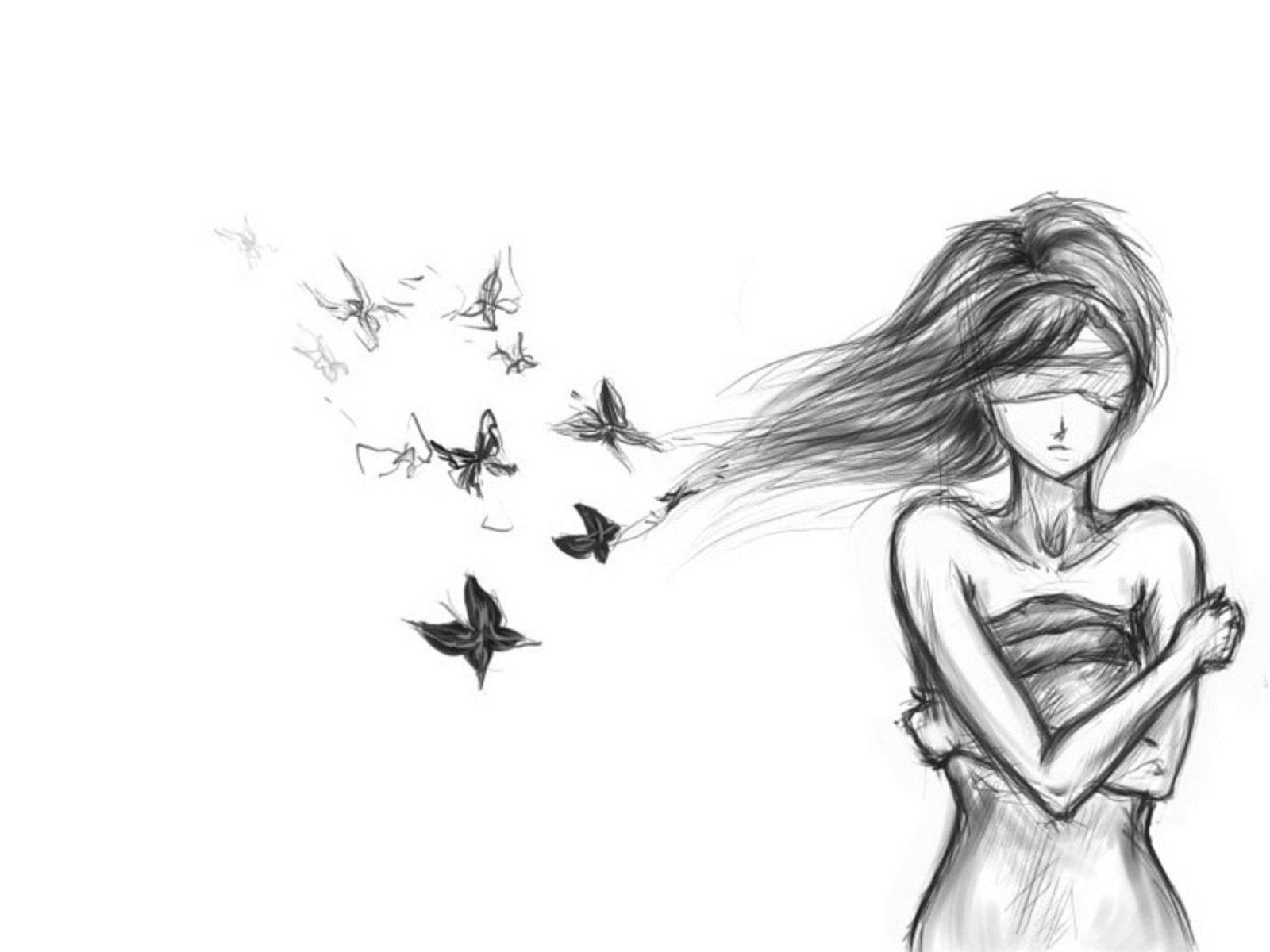 Спокойные красивые картинки для срисовки