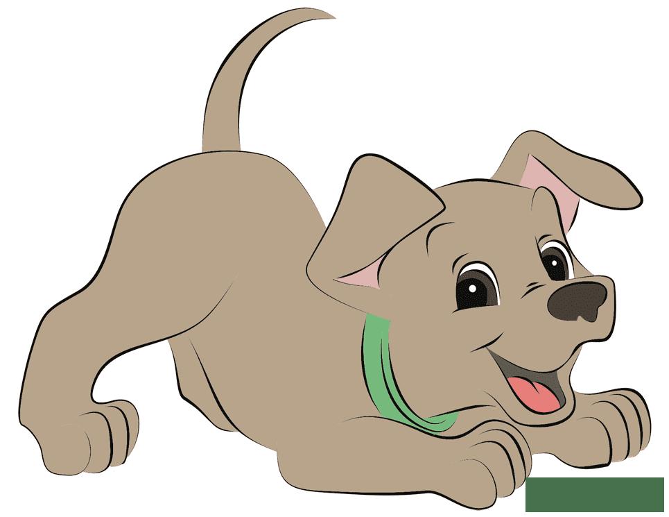 мультяшные картинки с щенками увеличиваются при клике