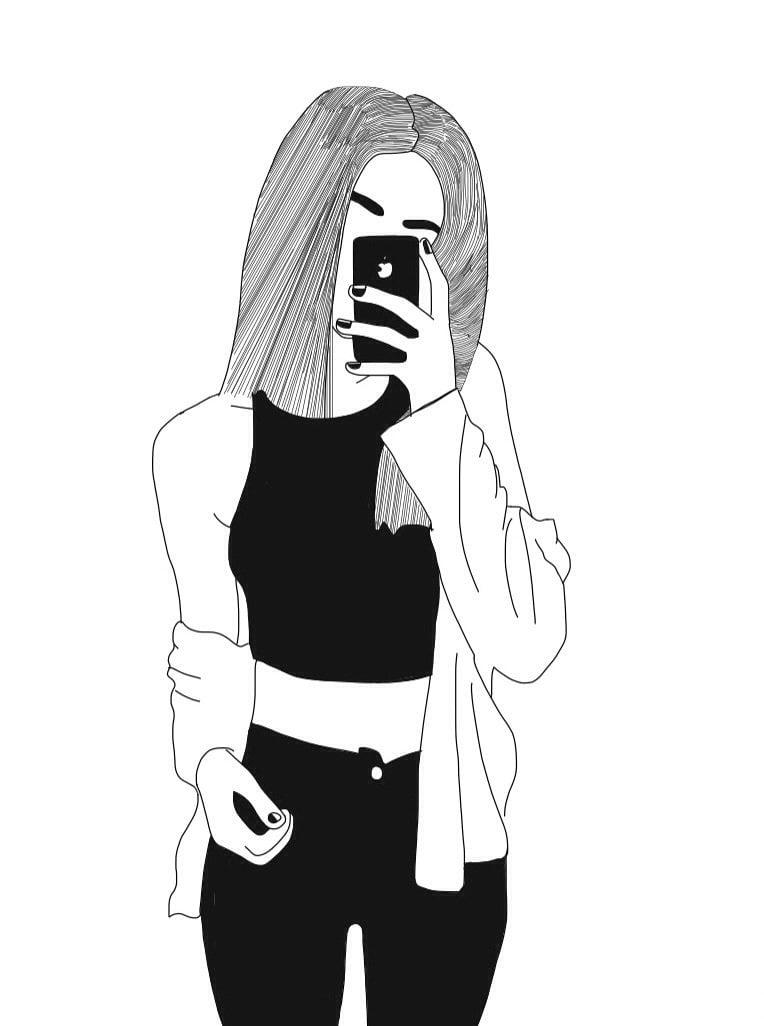 Черно белые картинки для срисовки карандашом 30 рисунков