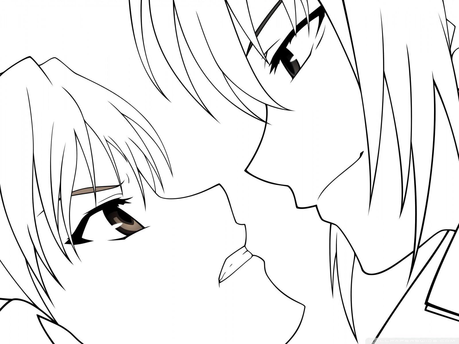 Для, аниме рисунок карандашом для срисовки
