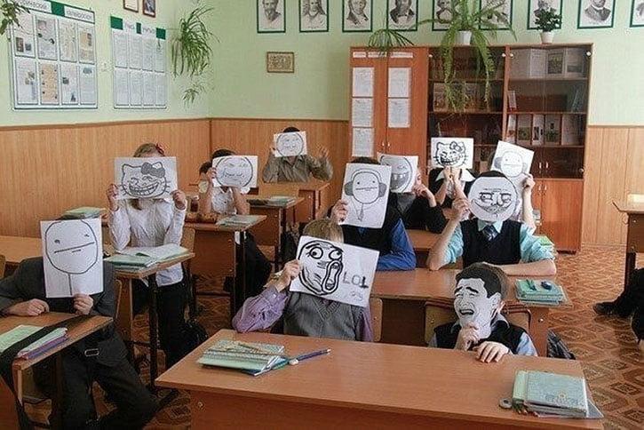 8 класс прикольные картинки