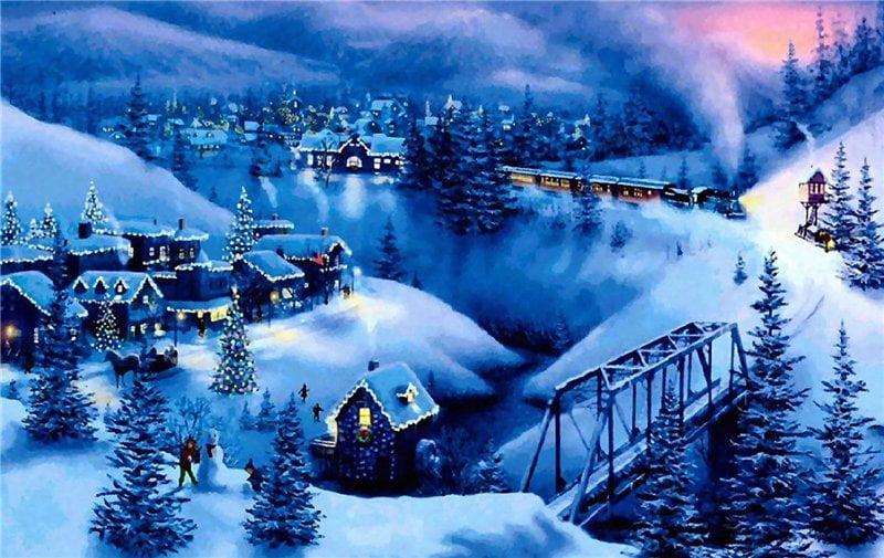 Картинки про зиму скачать