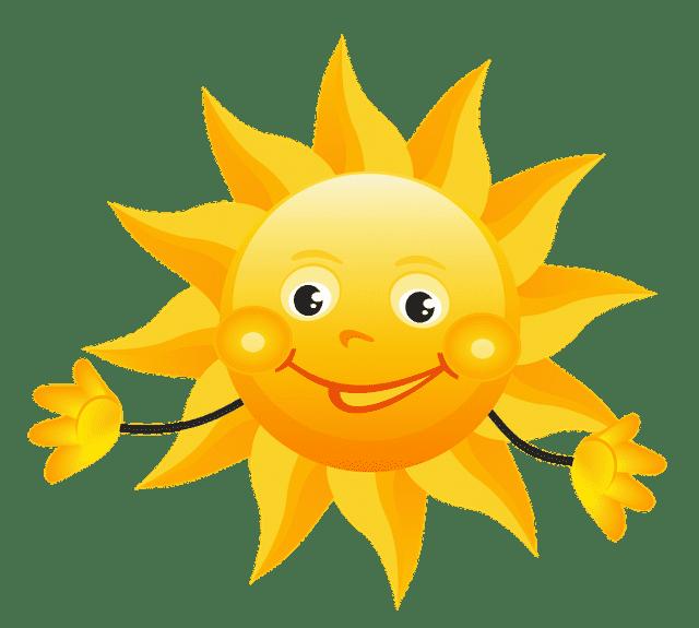 Картинка солнышка веселого для детей, сделать открытку день