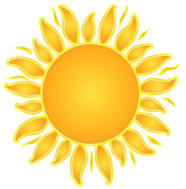 Изображение солнце в картинках