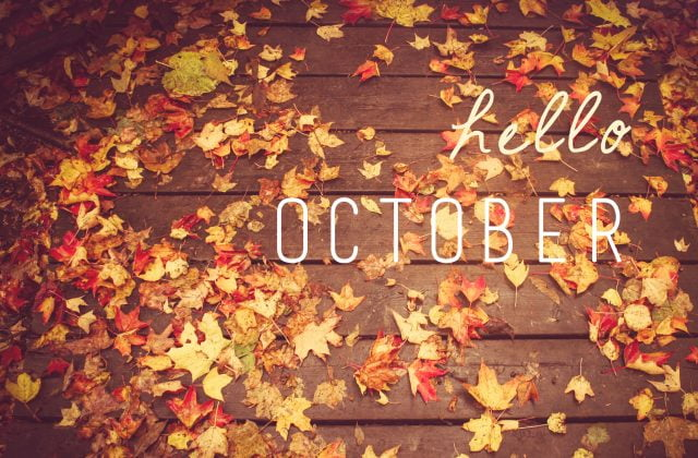 Картинки по запросу привет октябрь