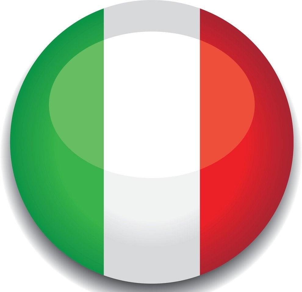 картинка флаг италии аэропорта
