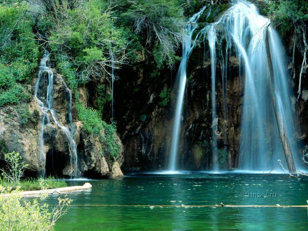 Обои красиво, водопад, Вода. Природа foto 15