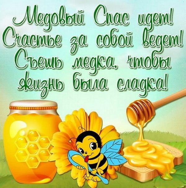 Стихи с днем рождения про мед