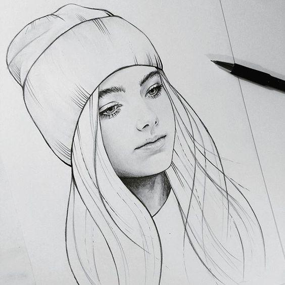 Сложные рисунки для срисовки карандашом (50 фото