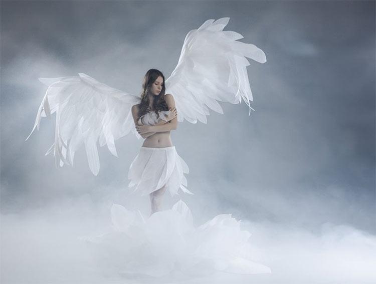 фото белого ангела крид