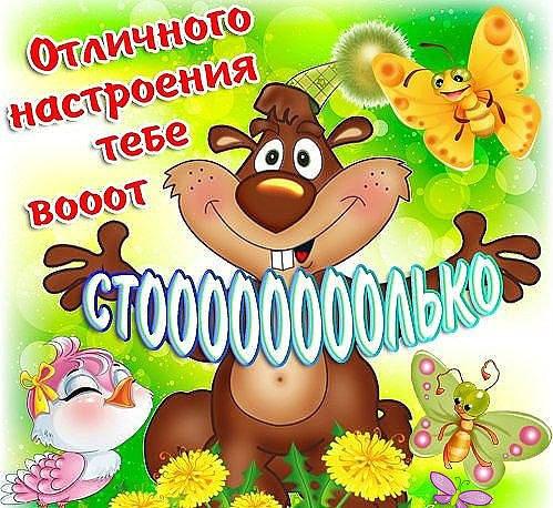 Русском, картинки просто так для настроения мужчине озорные прикольные