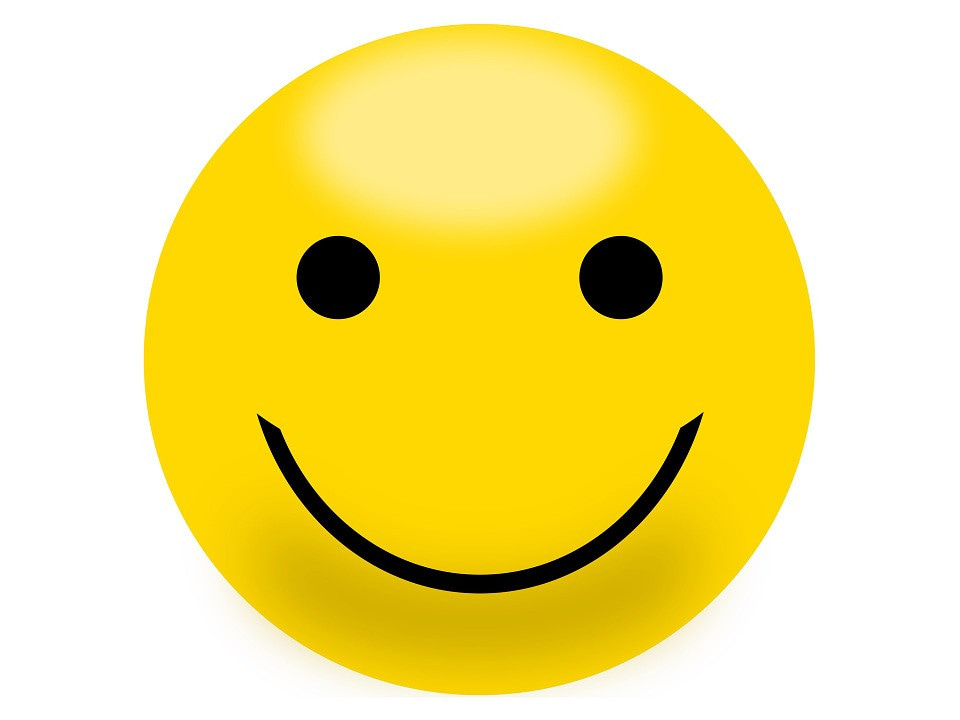 Смайлик с улыбкой картинка