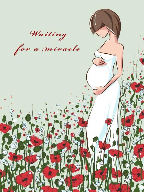 Поздравления беременным картинки, отпечатками ладошек день