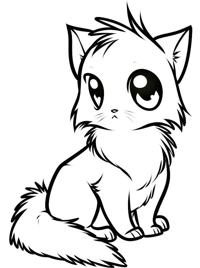 все картинки нарисованых котят платформу подготовил для