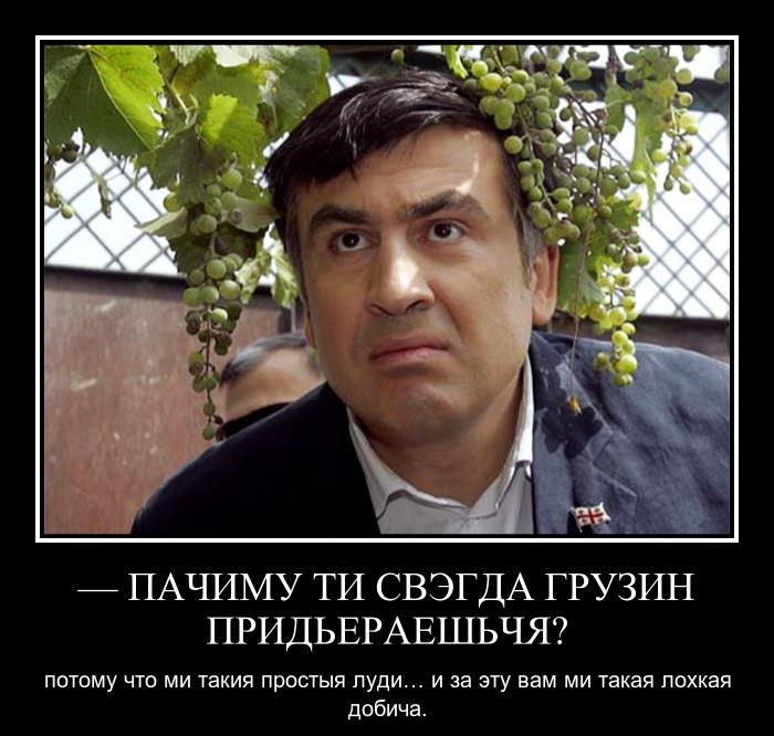 Демотиватор про саакашвили и одессу