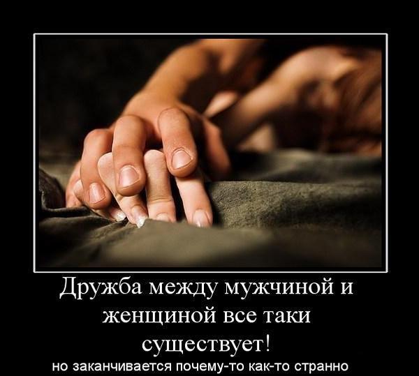 предложили демотиваторы о дружбе любви кроме предполагаемой