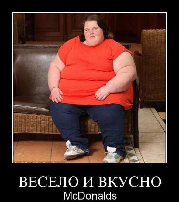 Картинки с приколами про толстых