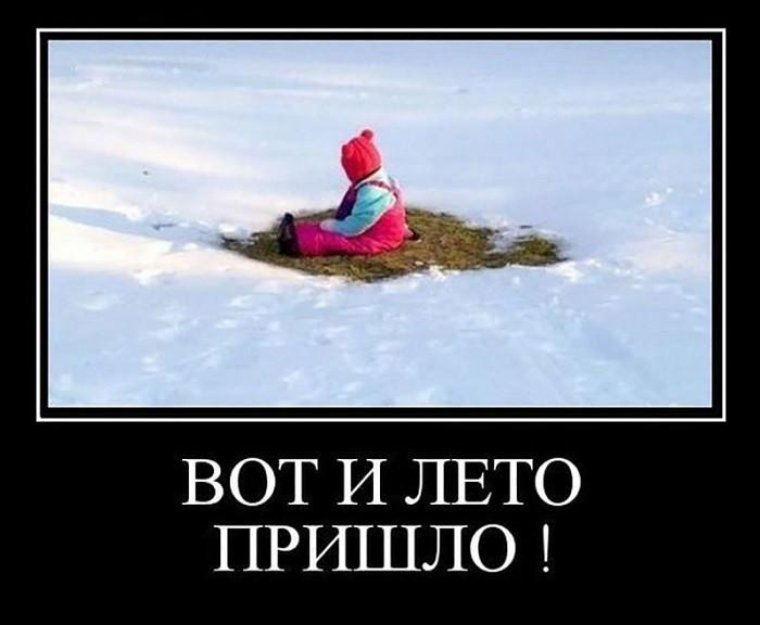 Прикольные картинки о холодном лете 2017