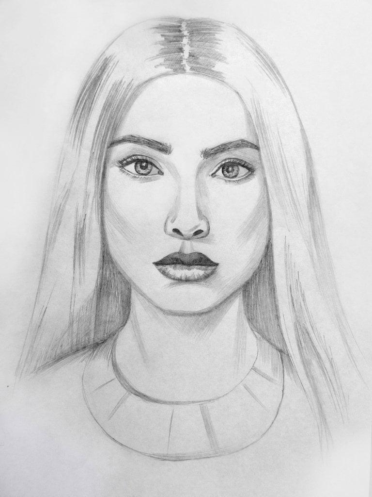 Нарисовать человека картинки