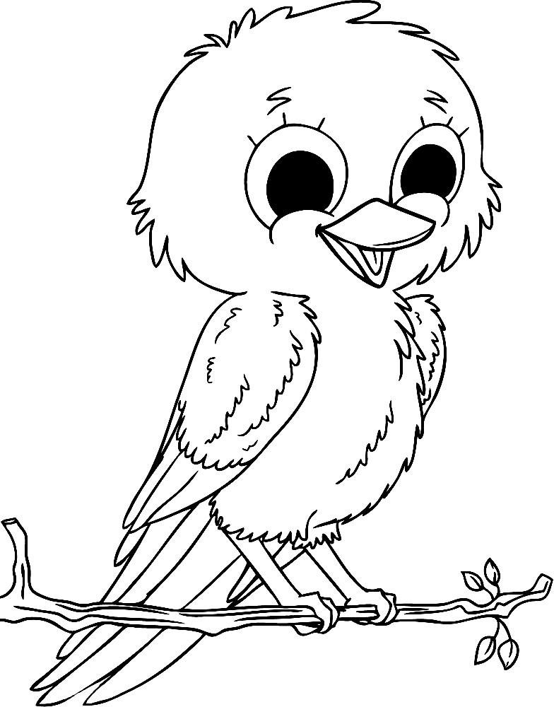 распечатать картинки птиц этому тональная основа