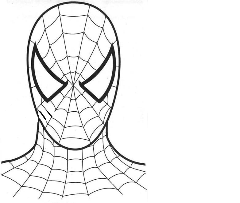 девушки лицо человека паука картинки нарисовать надо