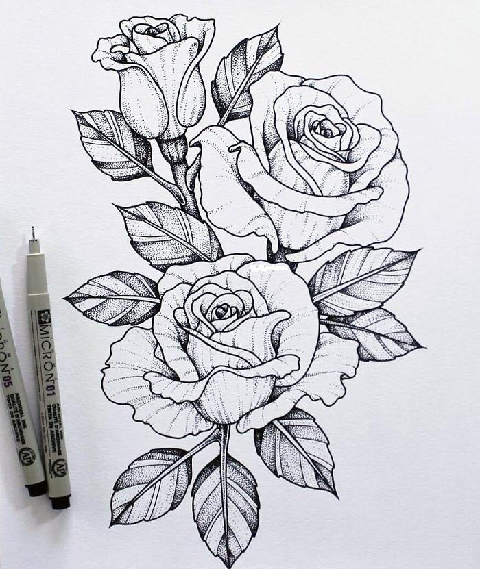 Картинки для срисовывания цветов