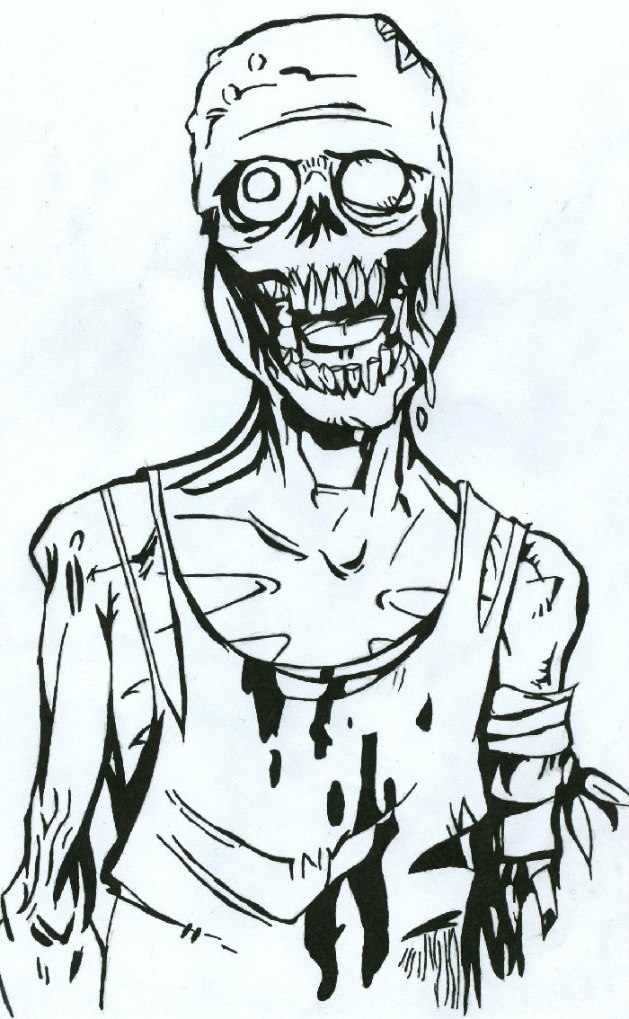 зомби апокалипсис рисунки карандашом развожу шпатлевку меня