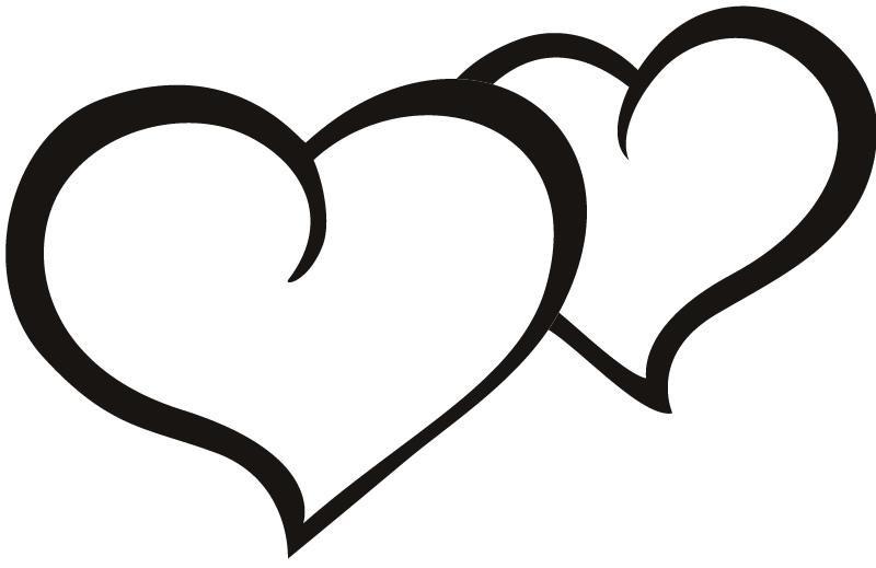 сердце контур картинка каждом ящике