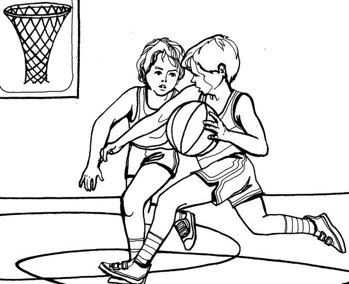 Рисунок про спорт карандашом для школы