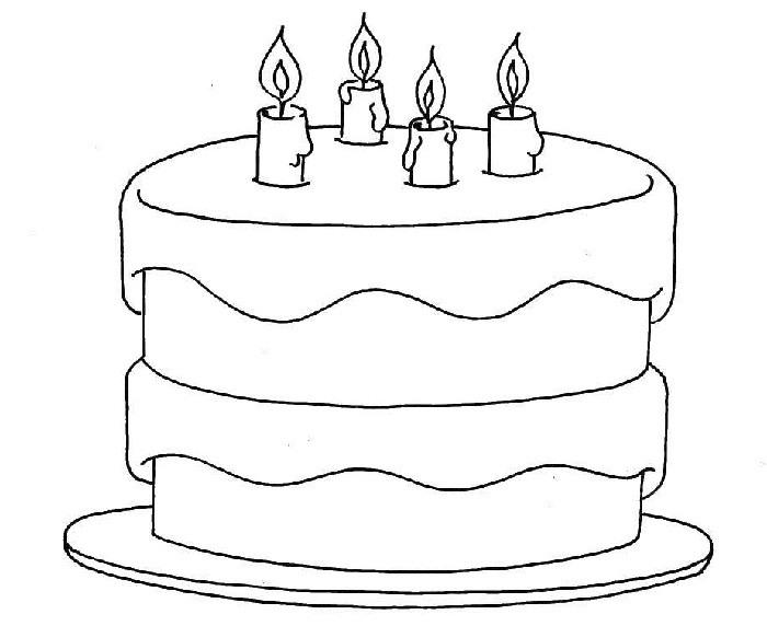 Малыши, красивые картинки тортиков для срисовки