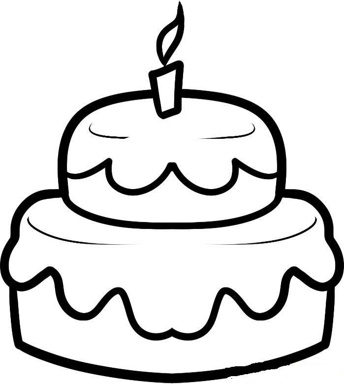Картинки пирога для срисовки