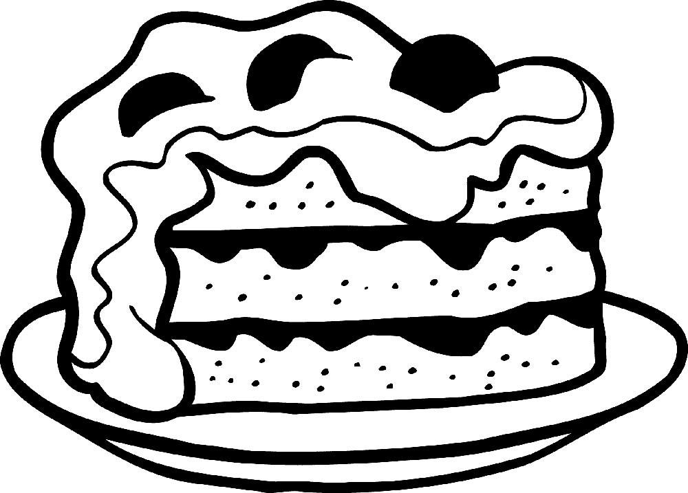 Картинки пирога для срисовки, голых женщин открытка