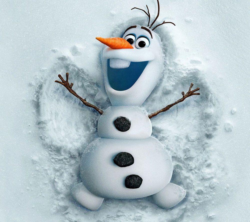 С днем рождения снеговик картинки