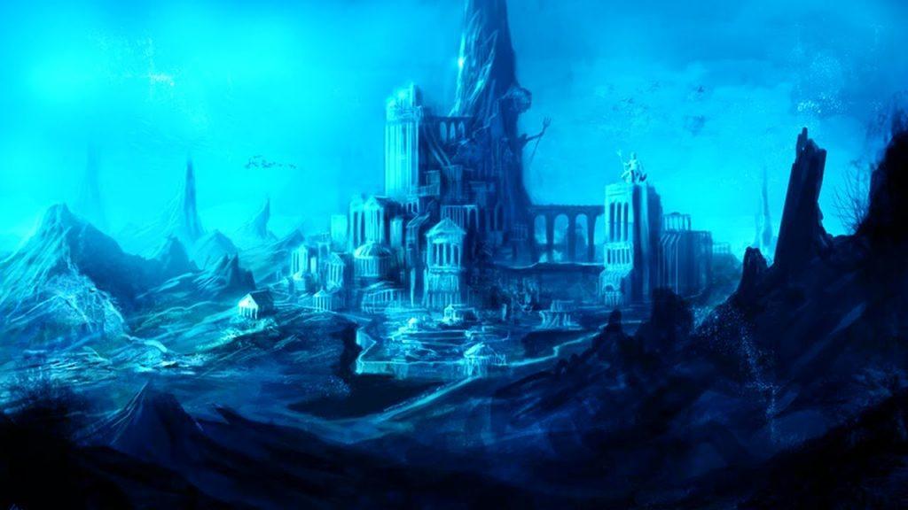 Город атлантида картинки