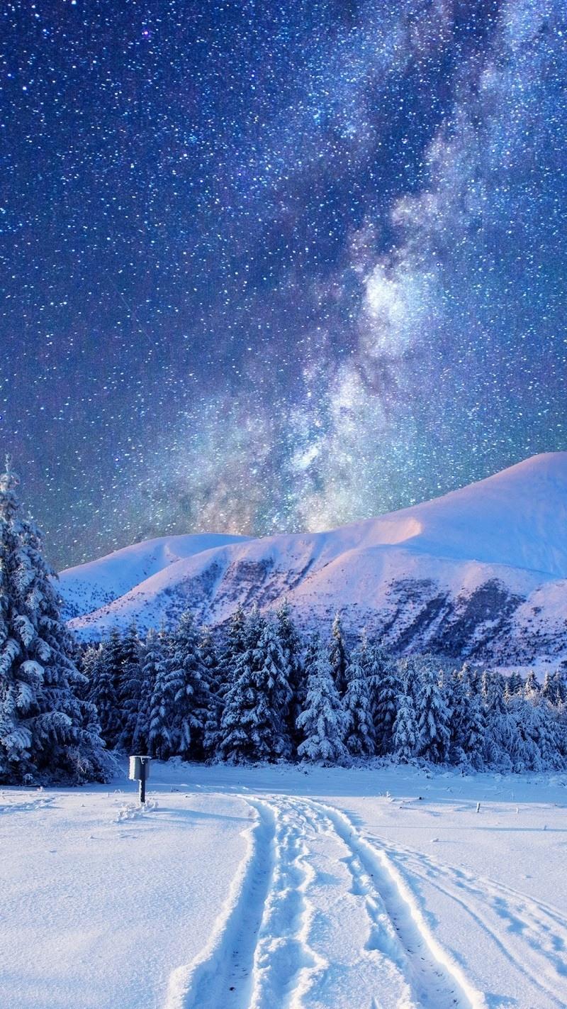Картинки зима для самсунг