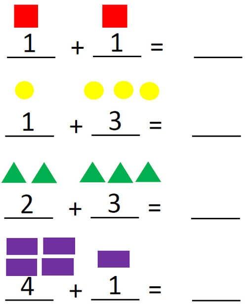 Математика вычитание картинки