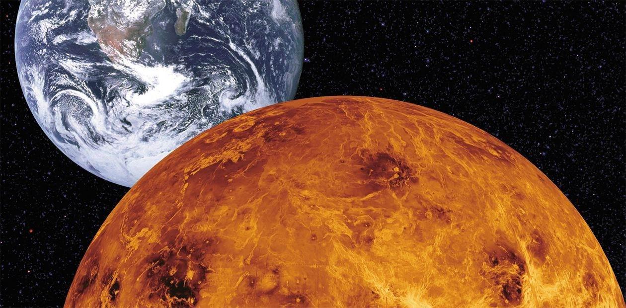 картинка венера в космосе этой статье