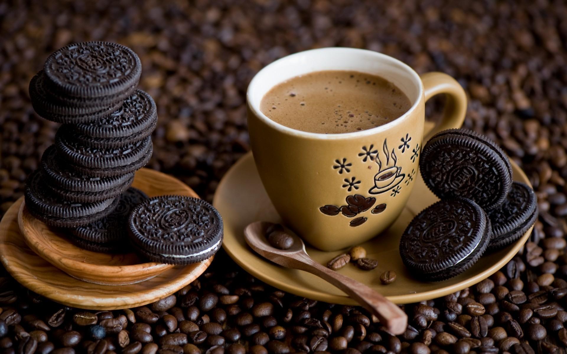 картинка с кофе в руках