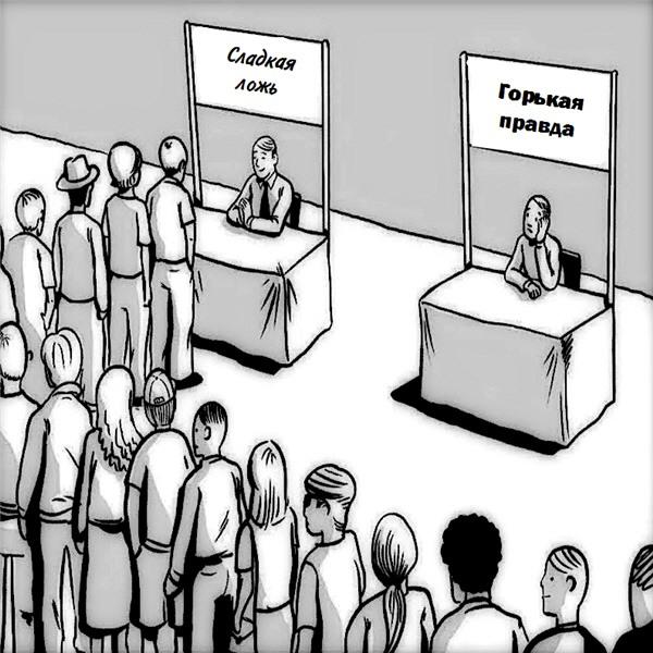 Ложь и правда в картинках