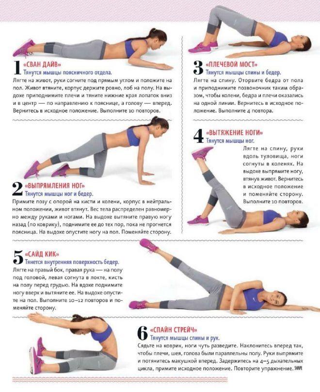 упражнение похудения ног фото