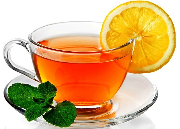 гоблин с чашкой чая