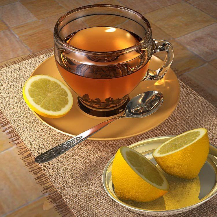 чашка чая в руках